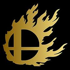 Amazon Com Flaming Smash Ball Pick Any Color Vinyl Transfer Sticker Decal For Laptop Car Truck Window Bumper 3in X 3in Laptop Size Gold Arts Crafts Sewing