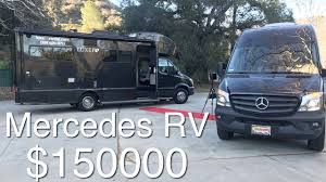 mercedes view rv from luxe rv luxury