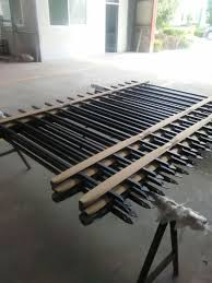 China Wholesale Modern Galvanized Steel Grills Fence Design Philippines China Galvanized Fence And Steel Fence Price