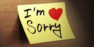 رسائل اعتذار للحبيب بوستات بها اجمل عبارات الاعتذار كيوت