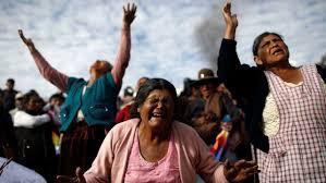 Evo Morales teme una guerra civil en una Bolivia sumida en el caos