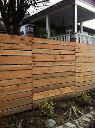 Pin By Michelle Smith On Into The Garden Horizontal Fence Backyard Fences Fence Design