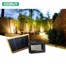 good quality solar panel 12 led flood