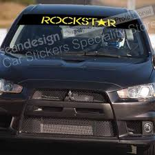 Rockstar Energy Type A G06 Windshield Decal Sticker Pvc Car Stickers Aliexpress
