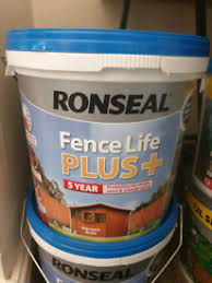 Ronseal For Sale In Scotland Fences Fence Posts Gumtree