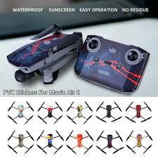 Waterproof Pvc Stickers Decal Skin Protective Film For Dji Mavic Air 2 Drone Ebay