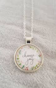 choose joy pendant necklace choose joy
