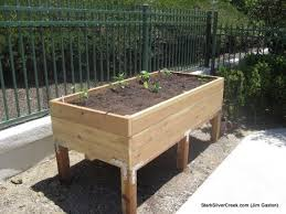 how to build a vegetable planter box