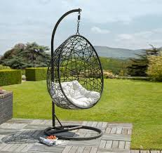 retreat rattan egg chair garden