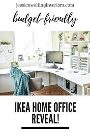 Ikea Home Office Ideas: My New Design Studio Reveal! - Jessica Welling  Interiors in 2020 | Ikea home office, Ikea home, Home office furniture