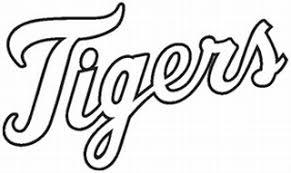 Detroit Tigers Vinyl Decal