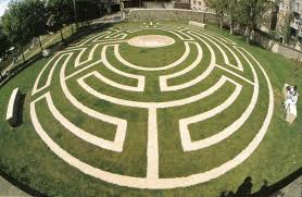 """Adrian Fisher Design on Twitter: """"A pavement #maze can bring life to an  empty field. Adrian designed this maze for the 1984 Bath Festival.  http://t.co/UHl3yZKcy1"""""""