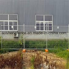 China Australia Used Construction Temporary Fence Panels Hot Sale China Powder Coated Temporary Fence Temporary Fence Panel