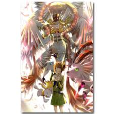 Digimon Adventure Tri Art Silk Fabric Poster Print 13x18 Inch Japanese Picture Living Room Wall 014 With Free Shipping Worldwide Weposters Com