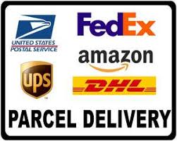 Usps Federal Express Ups Dhl Amazon Parcel Delivery Decal Multi Packs Signs By Salagraphics