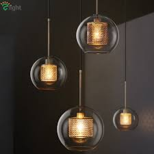hollow metal re led pendant lights