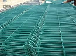 China Low Price 2x2 Pvc Welded Wire Mesh Fence Panels In 6 Gauge China Chain Link Fence Diamond Mesh