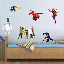Baymax Disney Big Hero 6 Giant Wall Decals Bedroom Robot Room Decor Stickers For Sale Online Ebay