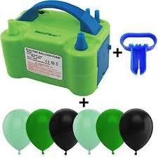 HeroFiber Electric Balloon Pump w/Tying Tool and 90 Balloons, 12 ...