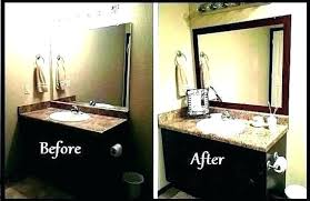 bathroom mirror frame best frameless