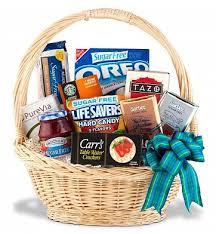 sugar free gift basket food fruit