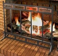 com large fireplace screen gate