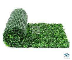 Light Green Artificial Boxwood Roll By Natrahedge