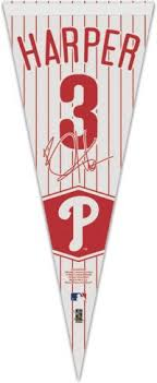 Wincraft Philadelphia Phillies Bryce Harper Pennant Dick S Sporting Goods