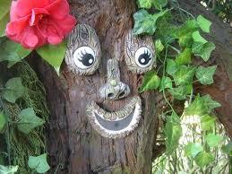 tree face outdoor garden