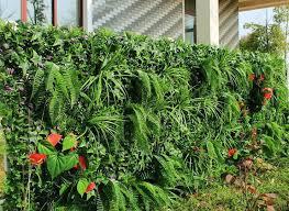 Artificial Vertical Garden Instant Green Wall Homify