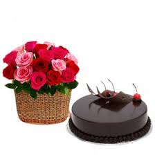 send flower cake to bangalore