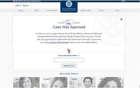 checking your case status uscis