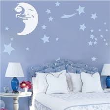 Happy Moon Wall Decal Trendy Wall Designs