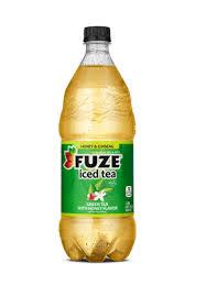 fuze green tea with honey