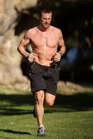 So, that's why Aaron Eckhart is so Buff!   Good looking men, Hard ...