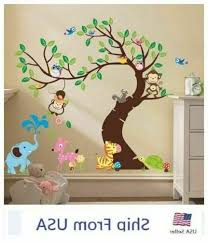 Jungle Wall Decals For Kids Rooms Wall Decals