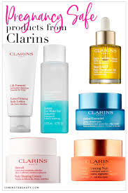 pregnancy safe skincare from clarins