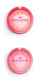 i heart revolution fruity blusher and