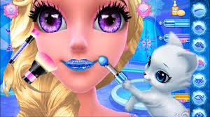 fun frozen princess s care game