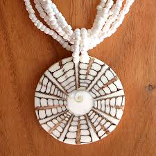 balinese shiva shell necklace