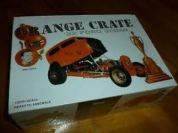 REVELL ORANGE CRATE 1932 Ford Sedan Vintage 1/25 Extremely Rare ...