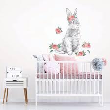 tabitha the bunny wall art kit