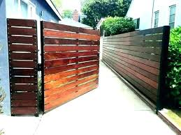 Wood Fence Ideas For Backyard Modern Wood Fences Ideas Fence Wooden Gate Backyar Backyar Backyard Fen In 2020 Modern Fence Design Wooden Gate Designs Fence Design
