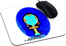 """Amazon.co.jp: Gloria Ivan Bell Make aマウスパッドカスタマイズマウスパッド9.25インチx 7.75 """":  文房具・オフィス用品"""
