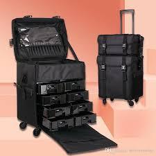 makeup travel bag on wheels saubhaya
