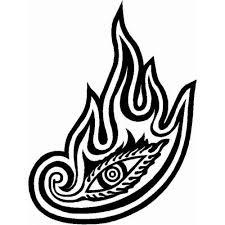 Tool Eye Logo Band Decal