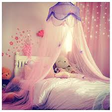 Nydecor Mosquito Net Bed Canopy Curtains Princess Butterfly Reading Canopies For Girls Kids Twin Full Size Beds Castle Play Tent Pink And Purple Walmart Com Walmart Com