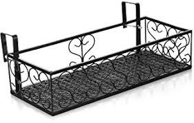 Amazon Com Metal Fence Hooks Hangers Plant Container Accessories Patio Lawn Garden