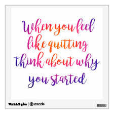 Recovery Quotes Wall Decals Stickers Zazzle
