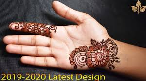 front hand easy simple mehndi design 2018